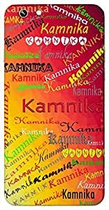 Kamnika (Beautiful) Name & Sign Printed All over customize & Personalized!! Protective back cover for your Smart Phone : Samsung Galaxy Note-4