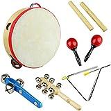 Tera Kit de Jouet Instrument de musique en bois à percussion pédagogique