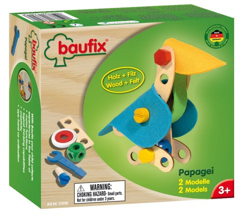 Baufix 13131010 - Papagei