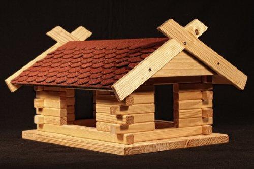 vogelhaus futterh uschen selber bauen kostenlose bauanleitung. Black Bedroom Furniture Sets. Home Design Ideas