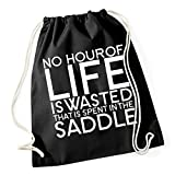 No Hour Of Live Is Wasted Borsa De Gym Nero Certified Freak