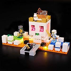 BRIKSMAX Kit di Illuminazione a LED per Lego The Skull Arena,Compatibile con Il Modello Lego 21145 Mattoncini da… 0716852280292 LEGO