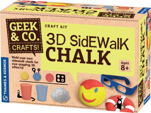 Geek & Co. Craft 3D Bürgersteig Kreide