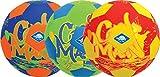 Schildkröt Neopren BEACH-SOCCERBALL, Ø21cm, normale Größe 5, Fussball, farblich sortiert, griffige textile Oberfläche, salzwasserfest, ideal für Stand & Garten, 970287