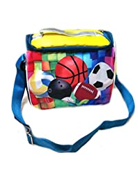 Generic Kids Cartoon Printed Sling Bag Picnic BagPack