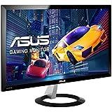 "ASUS VX238H - Monitor LED de 23"" (1920 x 1080p, HDMI, 1 ms), color negro"