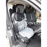 BLACK BO 4 ROSSINI MESH SPORTS BEIGE TO FIT A DODGE NITRO CAR SEAT COVERS
