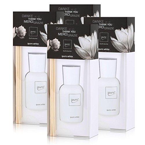 Ipuro luxus line white 50ml Raumduft (4er Pack)
