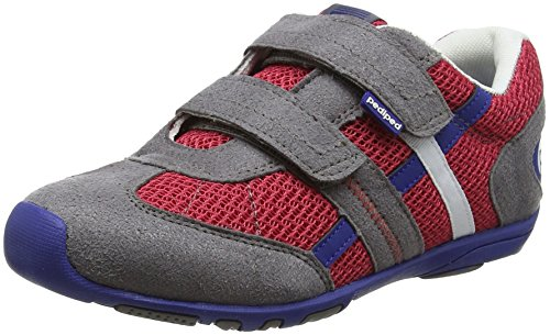 pediped Jungen Gehrig Sneaker, Rot (Union Jack UJ), 30 EU