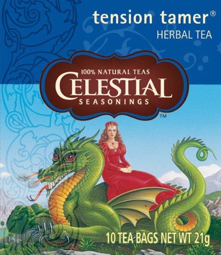 Celestial Seasonings Tension Tamer Tea, 5er Pack (5 x 21 g) (Tension Tamer Tee)