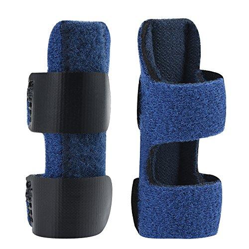 Fingerschiene mit gratis Anpassung der Größe, Fingerschiene Glätten Stützbandage für verhindern Gemeinsame von Finger Verletzungen, Mallet Finger für Heilung nach Operationen -
