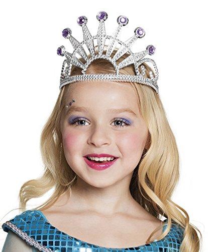 Für Kostüme Siebziger Jahre Kinder (erdbeerclown - Haarreif Prinzessin Kostüm Krone Strass,)