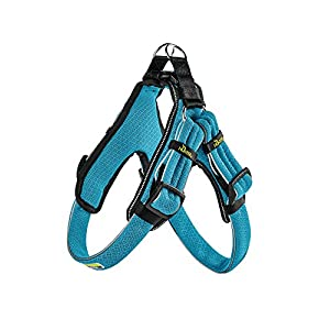 hunter Manoa Vario Quick Light Harness with Mesh, X-Small, 36-45 cm, 27 mm, Blue