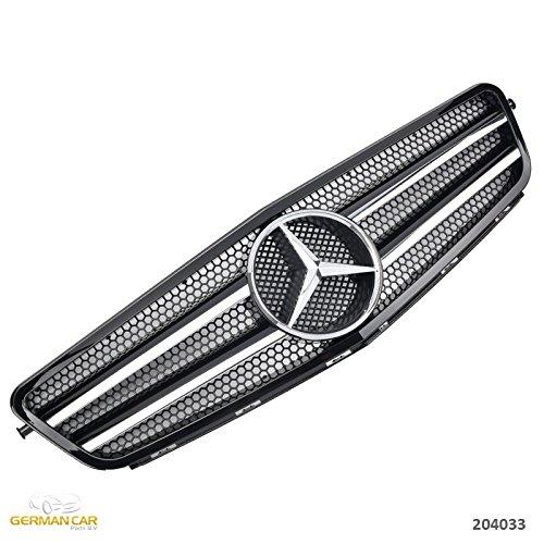 GermanCarParts GCP-204033 Grill Schwarz Chrom