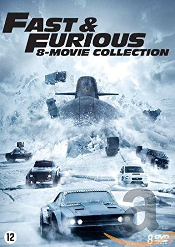 fast and the furious 7 dvd DVD - Fast & Furious 1-8 (1 DVD)