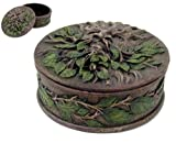4.5 Inch Greenman Norse Tree God Jewelry/Trinket Box