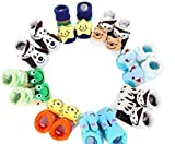 #9: EIO NEWBORN INFANT BABY GIRL/BOY SOCKS/ COTTON BOOTIES (PACK OF 3 PAIRS)