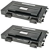 2 Toner kompatibel für Samsung CLP510 CLP515 N NG R CLP511 G CLP-510D7K schwarz