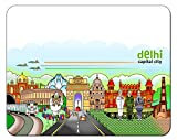 Delhi Theme Designer Mouse Pad