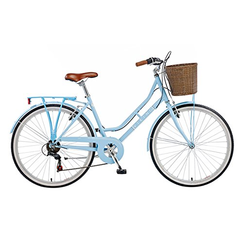 Viking Women's Belgravia 26 Inch Wheel Heritage Bike – Blue, 16 Inch