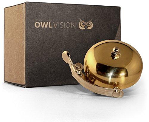 OWL VISION Fahrradklingel Hoot - Classic...