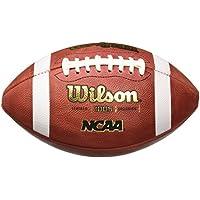 Wilson NCAA 1005 Traditional - Balón de fútbol americano, color marrón