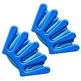 Mudder Haar Frisur Clip Haar Geflochtene Werkzeug Haar Braider für DIY Haar Stil, Blau, 2 Stück