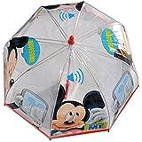 Mickey Mouse - Paraguas Manual Transparente- modelos aleatorios