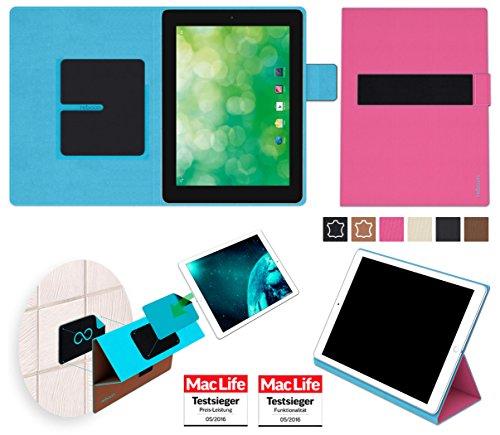 reboon Hülle für Blaupunkt Endeavour 1000 QC Tasche Cover Case Bumper | in Pink | Testsieger