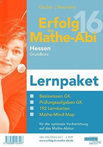 Erfolg im Mathe-Abi 2016 Lernpaket Hessen Grundkurs: mit der Original Mathe-Mind-Map
