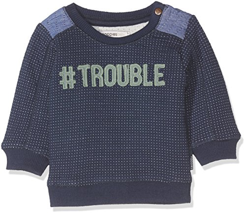 Noppies Baby-Jungen Sweatshirt B Sweater Howard Mid Bleu 62
