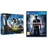 PS4 1TB D Chassis + Horizon Zero Dawn + PS Plus 3 Mesi + Uncharted 4: Fine di un Ladro immagine