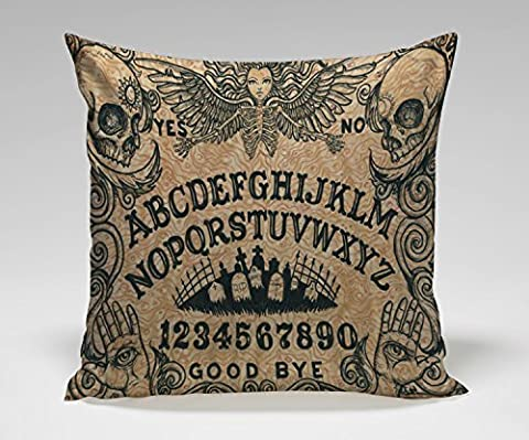 DSL&HXY B Lyster shop Ouija Board Horror Movie PPL068 Cotton & Polyester Soft Zippered Cushion Throw Case Pillow Case Cover