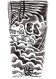 tatuajes en el hombro: Hb-087 - Tatuaje falso para el cuerpo - Brazos - Hombro - Nubes - 23 - Alas - ho...