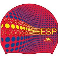 Turbo - gorro Natacion Silicona ESPAÑA Silicone Cap … (rojo)