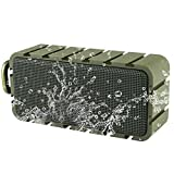 Samesay Bluetooth Lautsprecher, 10W Stereo Dual-Treiber Lautsprecher Tragbare drahtlose Boxen IPX6...