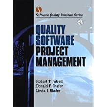 Quality Software Project Management, Two Volume Set (Software Quality Institute Series)