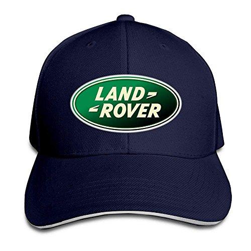 UUOnly LAND ROVER Logo Einstellbare Snapback Schirmmütze Baseball Mützen Navy -