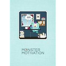 Monstermotivation Schreibtagebuch: Notizbuch, 32 gestaltete Seiten, DIN A5: 30 Tage & 30 Nächte – 50.000 Wörter