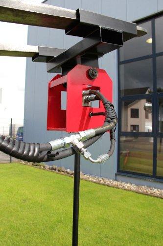 Hydraulischer Erdbohrer / Es wird keine Leckölleitung benötigt / Betriebsdruck max. 285 bar / Rechtslauf oder Linkslauf / Erdloch Bohren Bohrung Erdbohrung