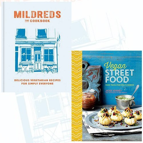 Mildreds The Vegetarian Cookbook and Vegan Street Food 2 Books Bundle Collection - Foodie travels from India to Indonesia