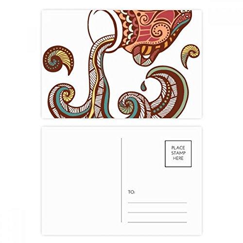 DIYthinker Wassermann Konstellation Tierkreis-Symbol Postkarten-Set Geburtstag dankt Karte Mailing Side 20pcs 5.7 Zoll x 3.8 Zoll Mehrfarbig - Karte Wassermann Geburtstag
