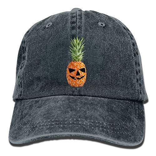 Männer & Frauen Halloween Kürbis Ananas Classic Washed Dyed Cotton Einfarbig Baseballmütze One Size Multicolor11