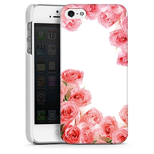 Apple iPhone 4 Housse Étui Silicone Coque Protection Roses Roses Roses CasDur blanc