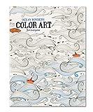 GUILD OF Master Craftsman Ocean Wonders Farbe Art für alle Färben Buch