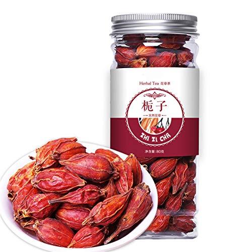 Chinesischer Kräutertee Blumen-Früchtetee Rosentee Eingemachte goldene Seidenchrysantheme abgefülltes neues duftendes Tee-Gesundheitspflege-Blumen-Tee-gesundes grünes Lebensmittel (80g Gardenia) -