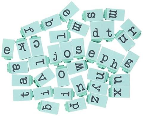 Prima Marketing Press Alphabet Stamp Set .25