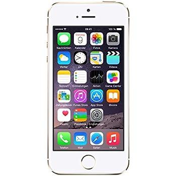 235ebd7c3b Apple iPhone 5S Smartphone 16GB 4 Zoll Gold: Amazon.de: Elektronik