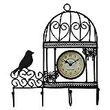 kulture label bird wall clock-wall clock...