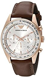 Emporio Armani Analog Silver Dial Mens Watch - AR5995